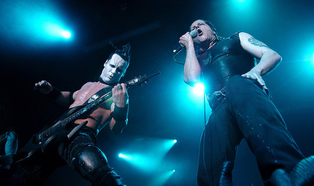 Doyle Wolfgang von Frankenstein (left) and Glenn Danzig (right)
